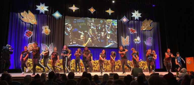 Youth performers at the 2019 Bioneers conference
