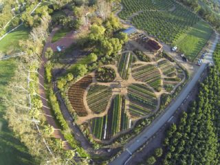 Aerial image from Apricot Lane Farms
